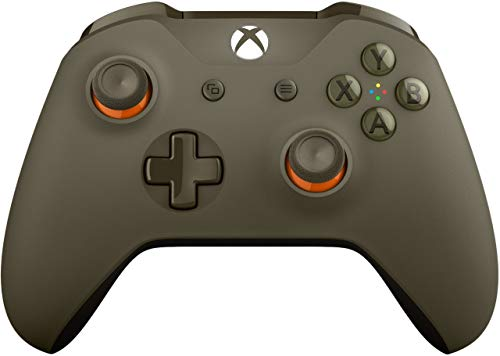 Xbox Wireless Controller - Green / Orange