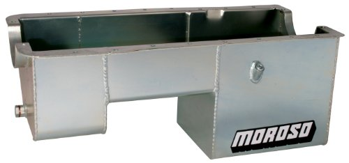 Fox Engine - Moroso 20511 Oil Pan for Ford 5.0L Engines in Fox Chassis Vehicles