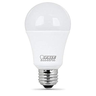FEIT 9w LED Light Bulbs, 60w Equivalent, 800 Lumens Natural Day Light 5000K, 10 Pack