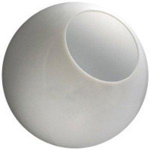 12 Inch white Polyethylene with 5.25 Inch Bottom Opening