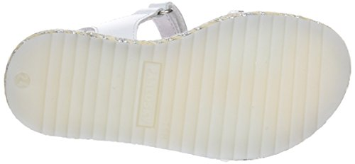 Fille Sandales Cassé Blanc 450903 Ouvert 450903 Blanco Bout Pablosky w5I6qY