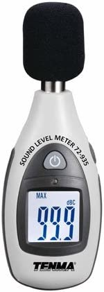 Tenma Compact A-Weighted Sound Level Meter