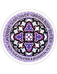 Greenwich Bay Trading Co. Garden Body Butter with Shea and Cocoa Butter (Lavender Sunflower)