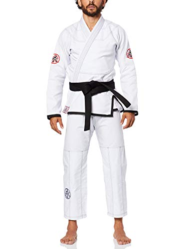 Keiko Sports Kimono Jiu Jitsu, Branco, A1