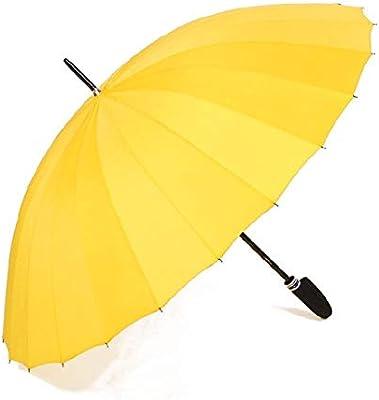 TtKj Folding Umbrella 24 Bone Long Handle Straight Pole Umbrella Oversized Windproof Business Meets Water Present Flower Umbrella 85103cm