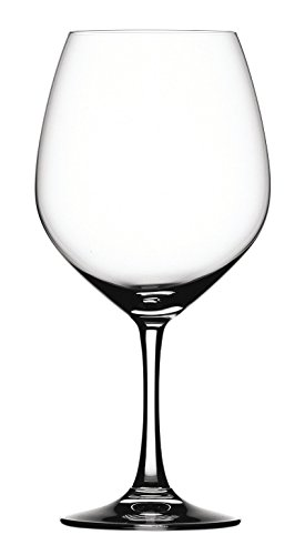 Spiegelau Vino Grande Non-Leaded Crystal Burgundy Wine Glass, Set of 4