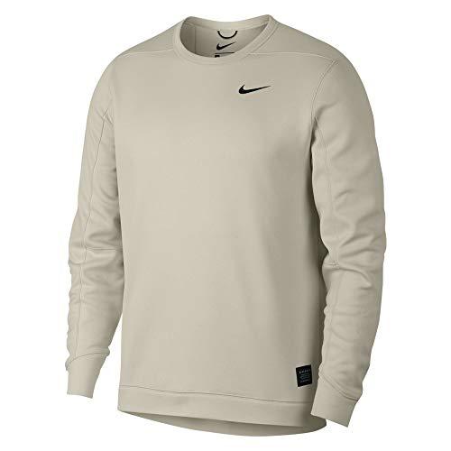 Nike Therma Repel Top Crew Golf Sweater 2019 Light Bone/Black Medium ()