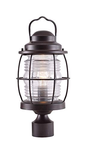 Cheap Kenroy Home 90956GC  Beacon Post Lantern, Blackened Gilded Copper Finish