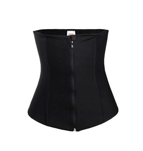 61020e5b28 NuTrim Waist Women s Undetectable Waist Trainer 30   XS Black - Import It  All