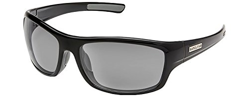 Suncloud Cover Polarized Sunglasses, Black, - Sunglasses Frisco