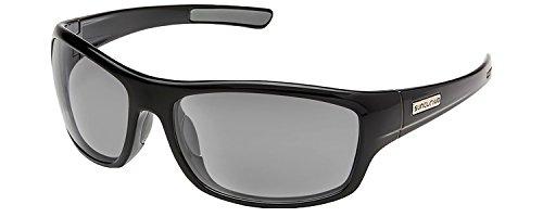 Suncloud Optics Cover Polarized Sunglasses, Black / - Sunglasses Warranty Suncloud