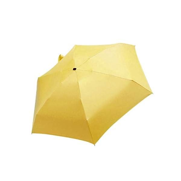 MaNMaNing Ombrello piatto mini leggero per ombrellone Parasole pieghevole portatile Ombrello perfetto Regalo di Natale o… 1 spesavip