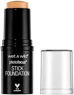 wet n wild Photo Focus Stick Foundation, Cream Beige, 0.42 Ounce