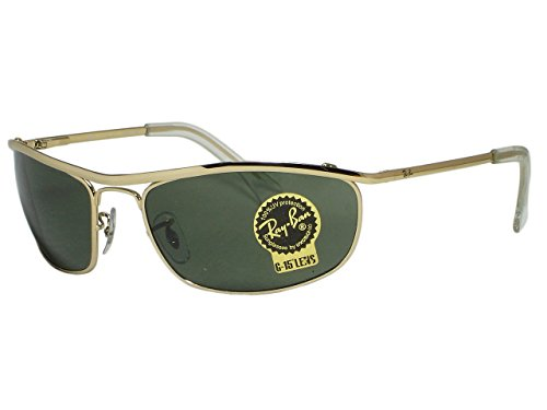 Ray Ban RB3119 Olympian 001 Gold Sunglasses - Sunglasses Rb3119