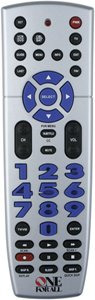 One For All URC 4220 Big Easy 4-Device Universal Remote Control (Discontinued by Manufacturer)