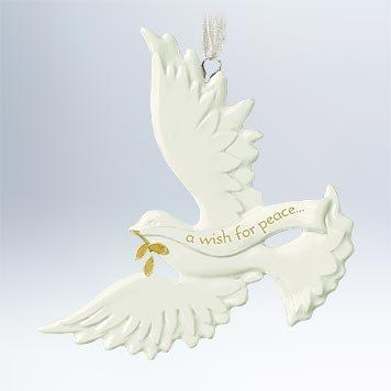 Peace Dove Ornament - 8