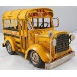 Vintage Looking Yellow School Bus