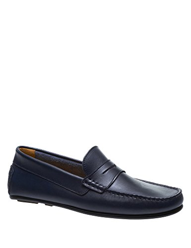 Sebago Men's Tirso Penny Leather Loafers Navy Leather