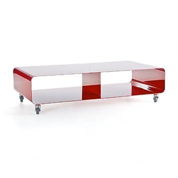 Mueller Moebel Mobile Line Rw 200 Sideboard Rubinrot Metall Mit