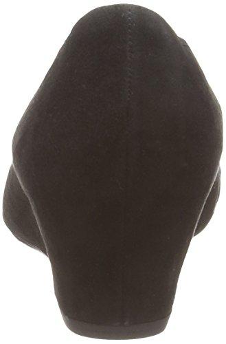 Gabor Tenerife - punta cerrada de cuero mujer negro - negro (negro ante)
