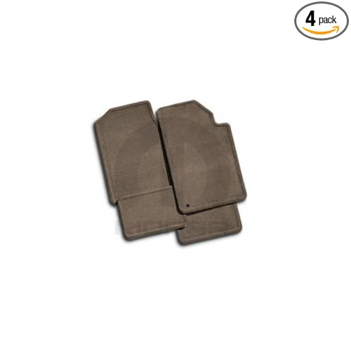Same as Production Set of Four Mopar 82208632 Dark Slate Gray Carpet Floor Front and Rear Seat Mats 4 Pack 12 oz