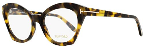 Tom Ford FT5456 Eyeglass Frames - Havana Frame, 52 mm Lens Diameter FT545652056 (Tom Ford Frames Männer)