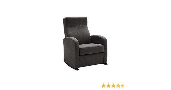 HOGAR TAPIZADO Butaca sillón Balancín BOB (IDEAL PARA LACTANCIA) Tapizado en tela ANTIMANCHAS AURA 04 MEDIDAS: 74 x 72 x 100
