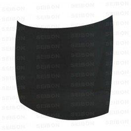 Seibon Carbon Fiber OEM-Style Hood Nissan 240SX S14 97-98 (Carbon Hood Fiber Nissan 240sx)