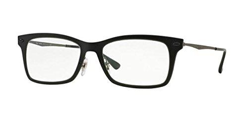 Ray-ban Rx Eyeglasses Frames Rb 7039 2077 51x18 Matte Black - Ray Ban Eyeglasses Wayfarer Frames