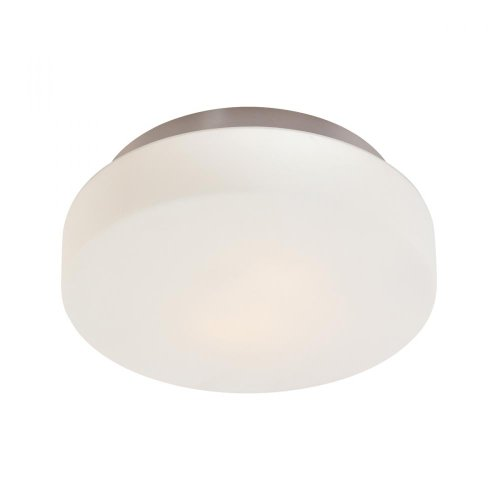 9.13 Transitional Three Light Surface Mount from Pan Collection in Pwt, Nckl, B/S, Slvr. Finish, 14 1/2