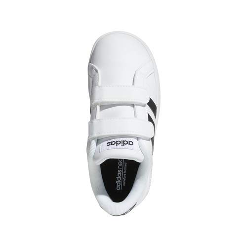 adidas Performance Baby Baseline Sneaker, White/Black/White, 6.5K M US Toddler by adidas (Image #7)