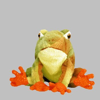 30c2a8395fb Image Unavailable. Image not available for. Color  Ty Beanie Babies -  Prince the Frog.