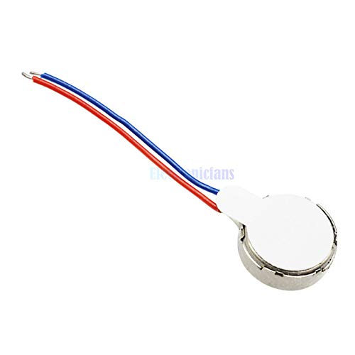 5Pcs Top Quality Coin Flat Vibrating Micro Motor DC 3V 8mm for Pager and Cell Phone Mobile Tools Wholesale