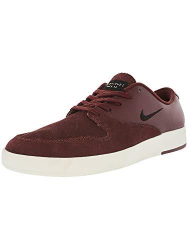 Nike Men's Sb Zoom P-Rod X Dark Team Red/Black Sail Ankle-High Leather Skateboarding Shoe - 11M ()