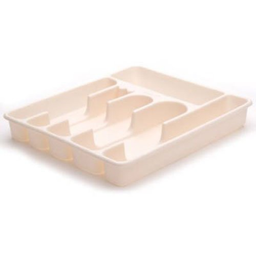 Rubbermaid Bisque Cutlery Tray, Large
