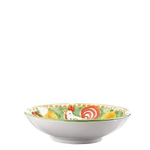 Vietri Gallina Coupe Pasta Bowl - Campagna Collection ()