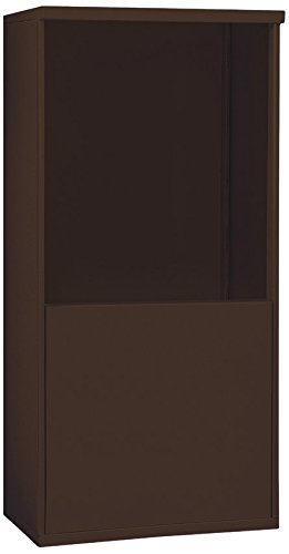 Salsbury Industries 3909D-BRZ Free-Standing Enclosure for 3709 Double Column, Bronze
