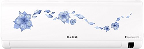 Samsung 1 Ton 3 Star Inverter Split AC (Alloy, AR12NV3HLTR, Star Flower White)