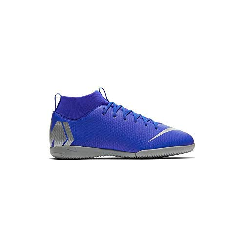 (NIKE Junior SuperflyX 6 Academy Indoor Soccer Shoes (5.5 US M Big Kid))