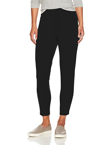 Petite Ankle Pant (Ruby Rd. Women's Pull-On Stretch Ponte Ankle Legging, Black, Petite XL)