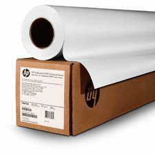 HP C6029C Heavy-weight coated paper - Roll A1 (24 in x 100 ft) - for DesignJet 11X, 45XX, 510, 5100, T1120, T120, T1200, T1300, T2300, T620, T770, T790, Z6200 (Hp Designjet 24 Inch Roll)