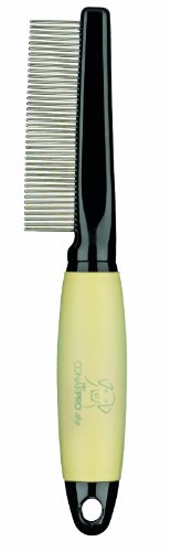 Conair Dog Comb with Memory Gel Grip, Medium