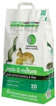 (Fibrecycle USA Inc. Back-2-Nature Small Animal Bedding 20 Liter)