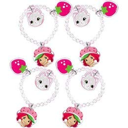 (Strawberry Shortcake 'Dolls' Charm Bracelets / Favors)