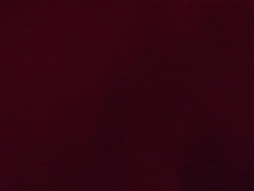 - Burgundy Flocked Velvet Fabric for Upholstery Craft Curtain Drapery Material Sold by The Yard at 54 inch Wide