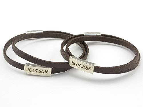 8ecadf4da Amazon.com: personalized couples bracelets, engraved name bracelet, couples  jewelry, name bracelet, wrap leather bracelet, gifts for couples, FREE  SHIPPING: ...