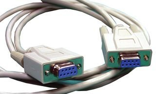 MULTICOMP (FORMERLY FROM SPC) - SPC19916 - COMPUTER CABLE, NULL MODEM, 10FT, GRAY