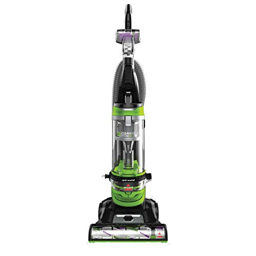 BISSELL Cleanview Rewind Pet Deluxe Upright Vacuum Cleaner, 24899, Green (12 Vacuum Upright Amp Bagless)