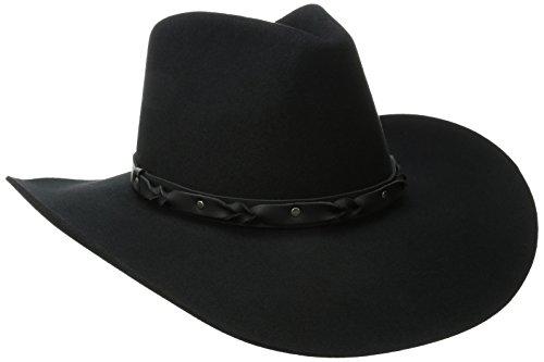 Bailey Western Men's Navarro, Black, 7 - Navarro Stores