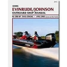 New Service Manual Evinrude Johnson 85-300HP (1995-2002) ()
